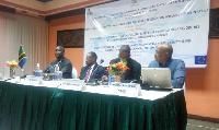 Experts at the workshop in Zanzibar