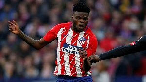 Atletico Madrid midfielder Thomas Partey