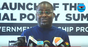 Charles Bissue, Secretary to Inter-Ministerial Committee on Illegal Mining