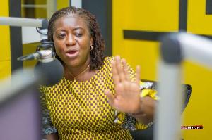 Brigitte Dzogbenuku, 2016 Vice-presidential candidate of the Progressive People