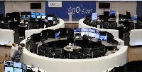 The German share price index DAX graph is pictured at the stock exchange in Frankfurt, (Reuters)