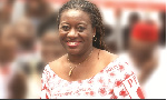 Brigitte Dzogbenuku, aspiring flag bearer of the PPP  party