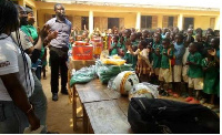 GAWU donates items to some selected schools