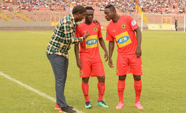 Asante Kotoko name 31-man contingent for Hearts of Oak clash in London