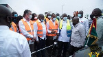 According to President Nana Akufo-Addo,the project will alleviate the plight of motorists