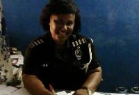 Deceased Chief Inspector, Victoria Peprah