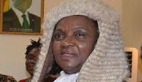 Chief Justice, Mrs Georgina Theodora Wood
