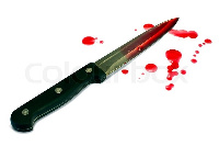 The suspected thief was stabbed by the German student during the Odwira street festival