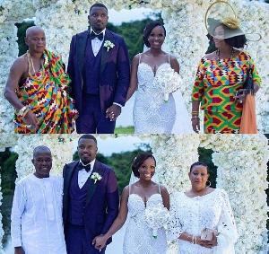 The Dumelos had their plush wedding last Saturday