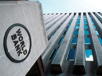 Frontage of a World Bank building   File photo