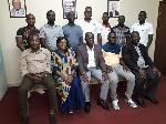 Executives of the Ghana Taekwondo Federation