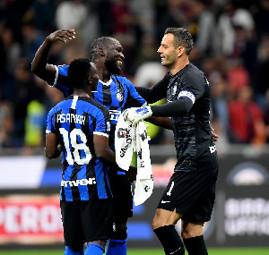 Asamoah has featured in all four of Inter's league games this season