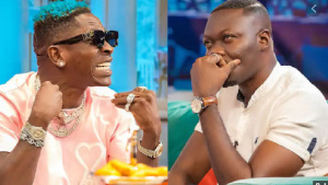 Shatta Wale and Arnold Asamoah-Baidoo have been at each other's throats