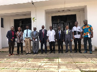 Greater Accra Old Vandals Association in a group picture