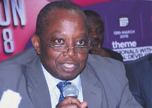 Auditor General, Mr. Daniel Yaw Domelevo