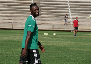 Kwabena Owusu played 18 minutes for Cordoba