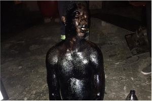 Emmanuel Gyimah reportedly got trapped while attempting to steal bitumen