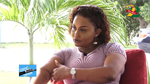 Bone in Nana Ama McBrown's arm has been supported with a metal