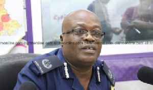 Director-General of Police Public Affairs Directorate, ACP David Eklu