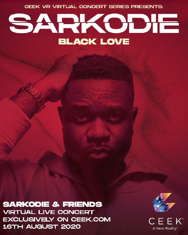 The concert has been dubbed 'Black Love Sarkodie'
