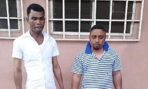 Amos Debi and Emmanuel Nartey