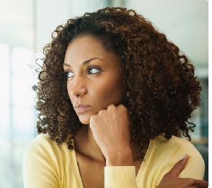 Woman Thinking New