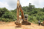 Illegal mining continues to be carried out in Ghana