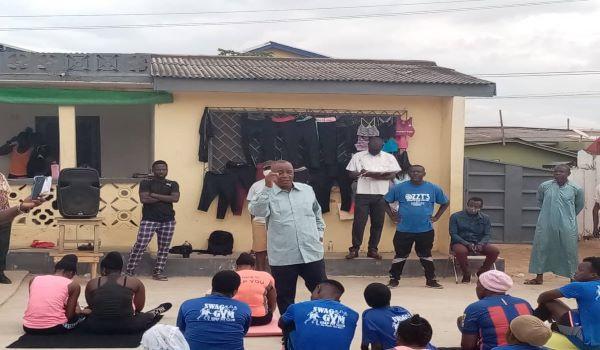 The MP for Madina Constituency, Alhaji Abubakar Saddique Boniface