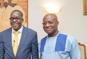 Majority Leader, Osei Kyei-Mensah-Bonsu and Speaker Alban Bagbin
