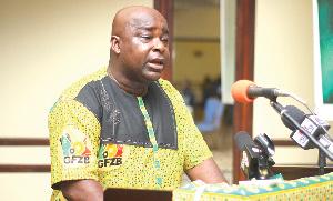 Michael Okyere Baafi, CEO of the Ghana Free Zones Authority
