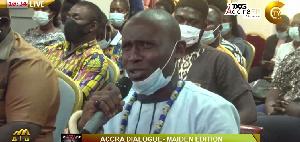 Chief of the Nigerian community in Kasoa, Nana Kingston Ollebu