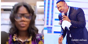 Musician Mzbel and Prophet Nigel Gaisie