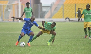 Gladson Awako in action for Olympics