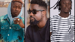 Shatta Wale, Sarkodie and Stonebwoy