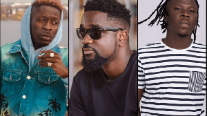 Shatta Wale, Stonebwoy and Sarkodie