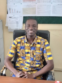 Samuel Atuahene Antwi is a nutritionist at the Tema Metropolis