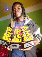 Stone Gee nominated for 2021 Ghana Music Awards-USA