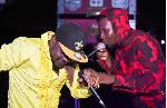 Okomfour Kwaadee and Joe Frazier
