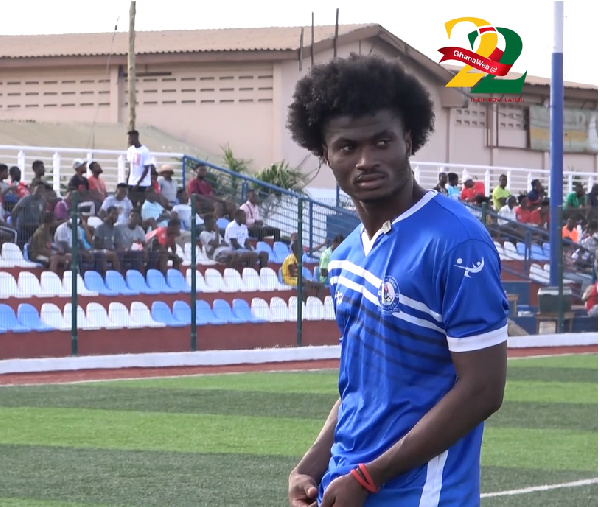 Playing football in Ghana is really tough - Jacob Kingston