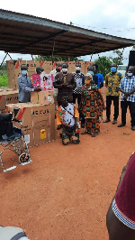 Assin South Assembly empowers 161 PWDs