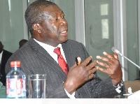 Deputy Chairman for African Union (AU) Commission, H.E Ambassador Kwesi Quartey