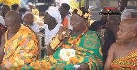 Nana Adarkwa Dwamena II,  Chief of Bontodiase in the Eastern Region