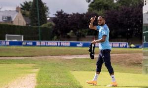 Black Stars striker , Jordan Ayew