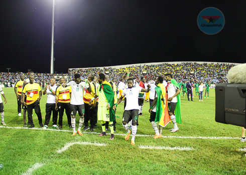 AFCON 2021 qualifiers: Partey, Kudus strike as Ghana beat South Africa 2-0