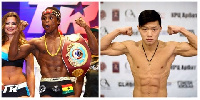 Arnold Khegai has dared Dogboe to a fight