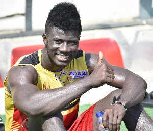 Samuel Obeng scored two goals for Ghana at the AFCON