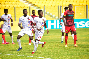 Hearts of Oak and their rivals Asante Kotoko are tied on top of the league log