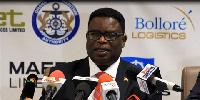 Dr. Kofi Mbiah, CEO of Ghana Shippers Authority