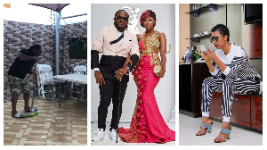 Selly Galley and husband Praye Tietia