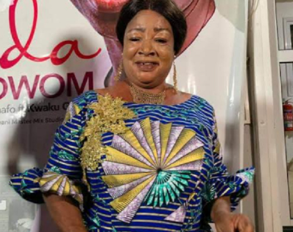 Maame Tiwa is the lead female vocalist of the Asomafo band